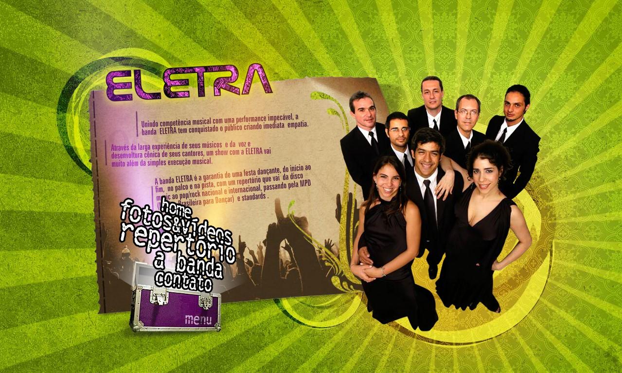 Banda Eletra old website